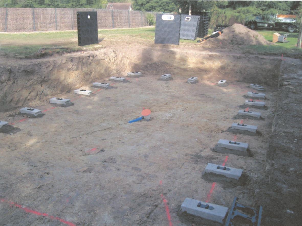 Primul pas in construtia unei piscine: pregatirea terenului