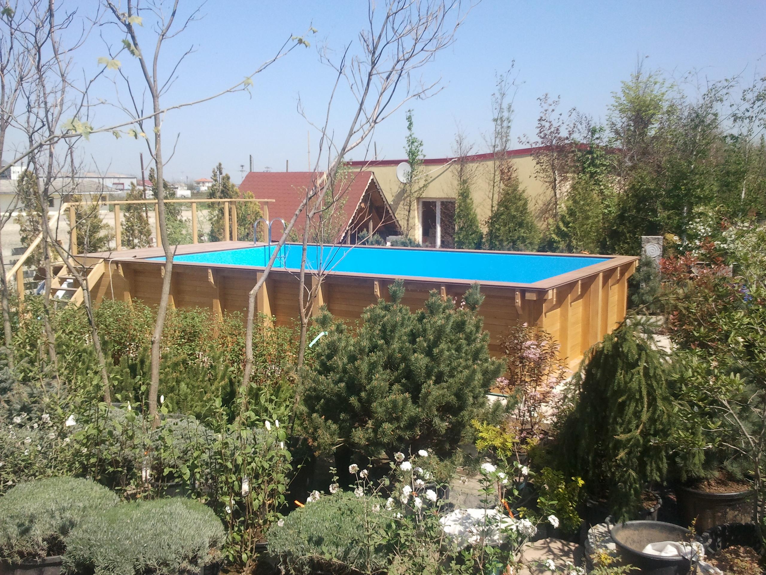 Piscine din lemn constructii piscine supraterane din for Construim piscine