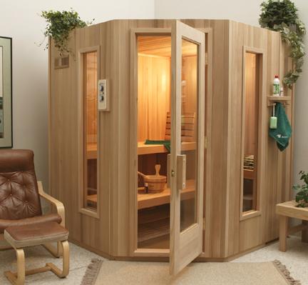 Saune modulare standard
