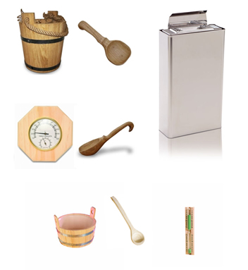 Accesorii saune modulare standard