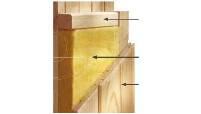 Perete saune modulare standard