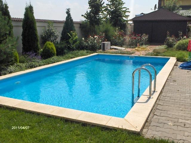 Construirea unei piscine din beton cu cofraj pierdut BRAGADIRU 1